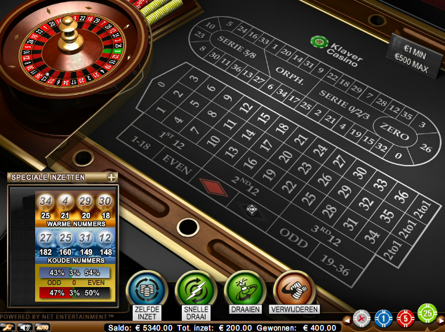 Screenshot 2 klaver casino roulette